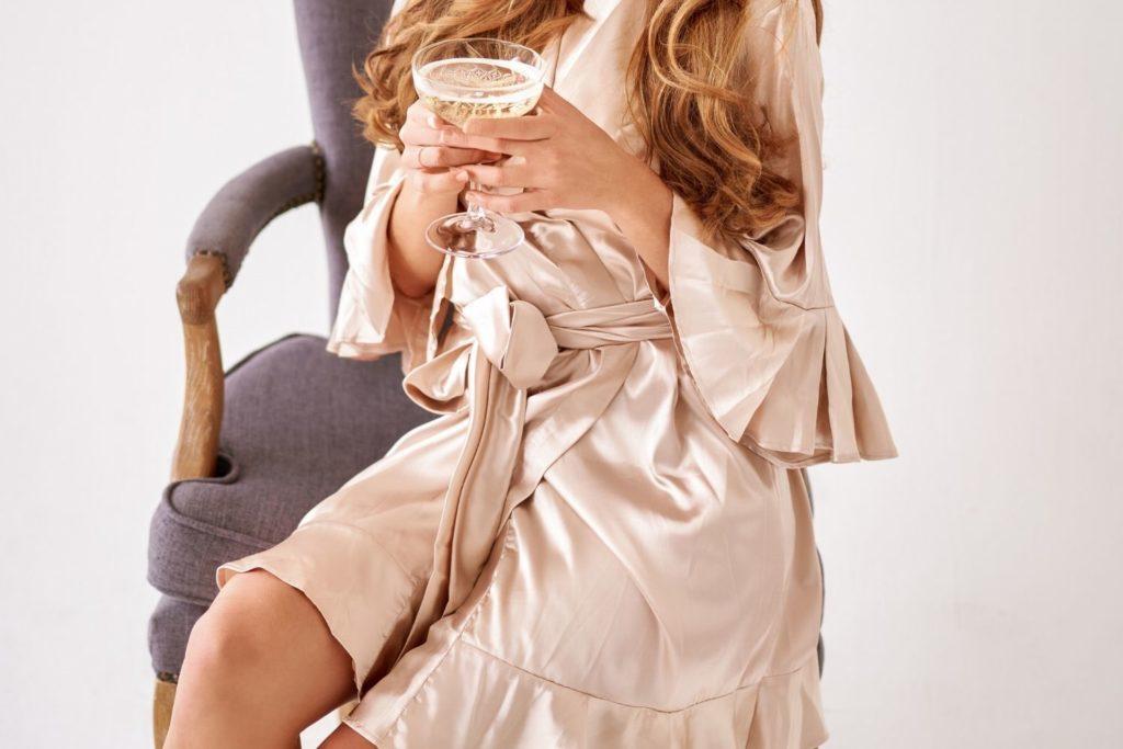 Adore Couture Ruffle Robe