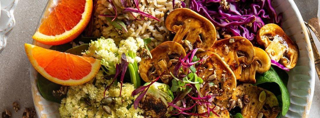 Recipe: Mushroom Harvest Bowl